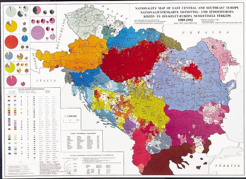 Map Of Europe 1914. External Online Maps : Hungary